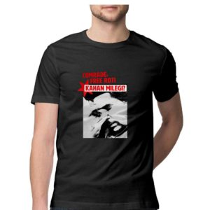 Roti kahaan milegi comrade buy funny anti communist t shirt in india