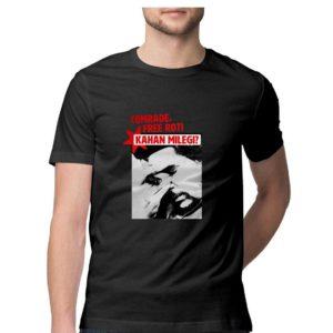 Roti kahaan milegi comrade buy funny anti communist t shirt in india