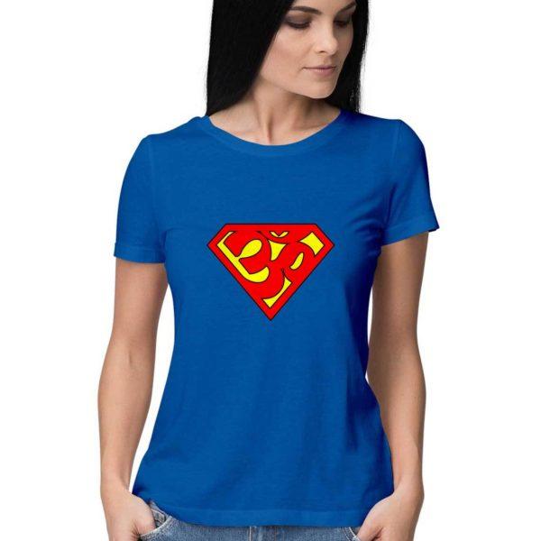 super-aum-for-women-tshirt-india-capistan-club-cool-funny-tshirts-india