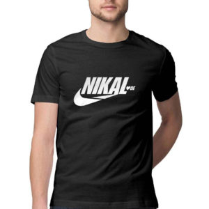 Nikal LoveDe funny Tshirt black Rupees 449 buy now capistan club india free shipping